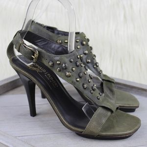 Donald Pliner Nekita Leather Studded Sandals